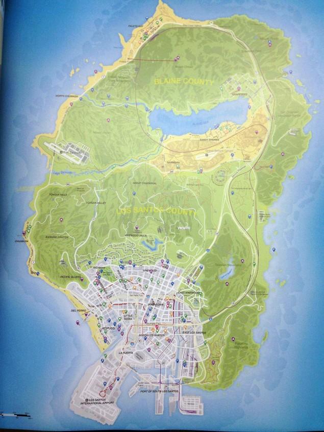 GTA V Map Los Santos