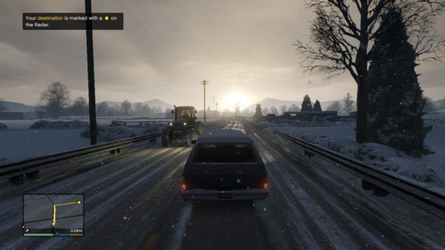 GTA V Snow Map