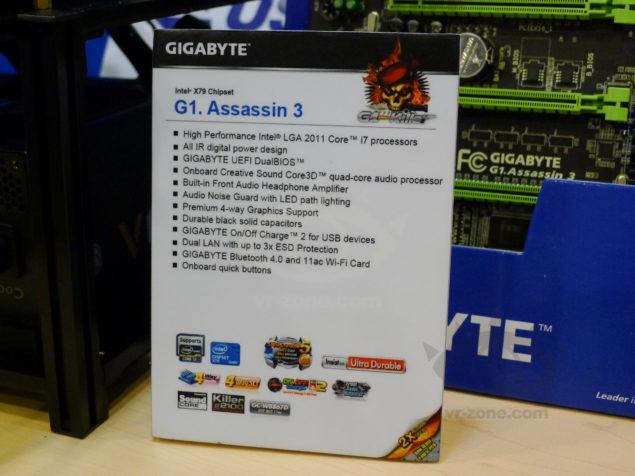 Gigabyte G1.Assassin 3 Specs Sheet