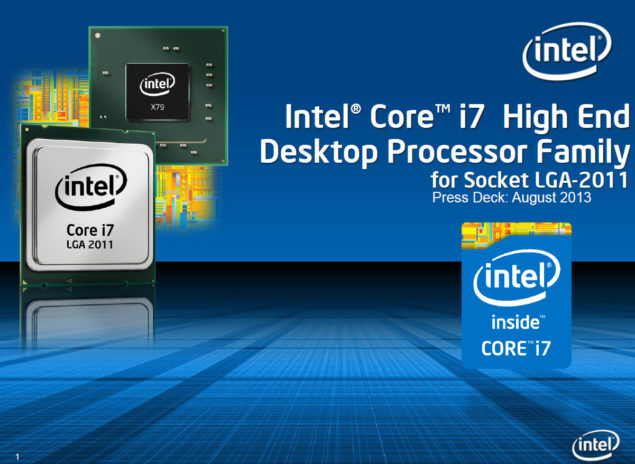 Intel Core i7 Ivy Bridge HEDT