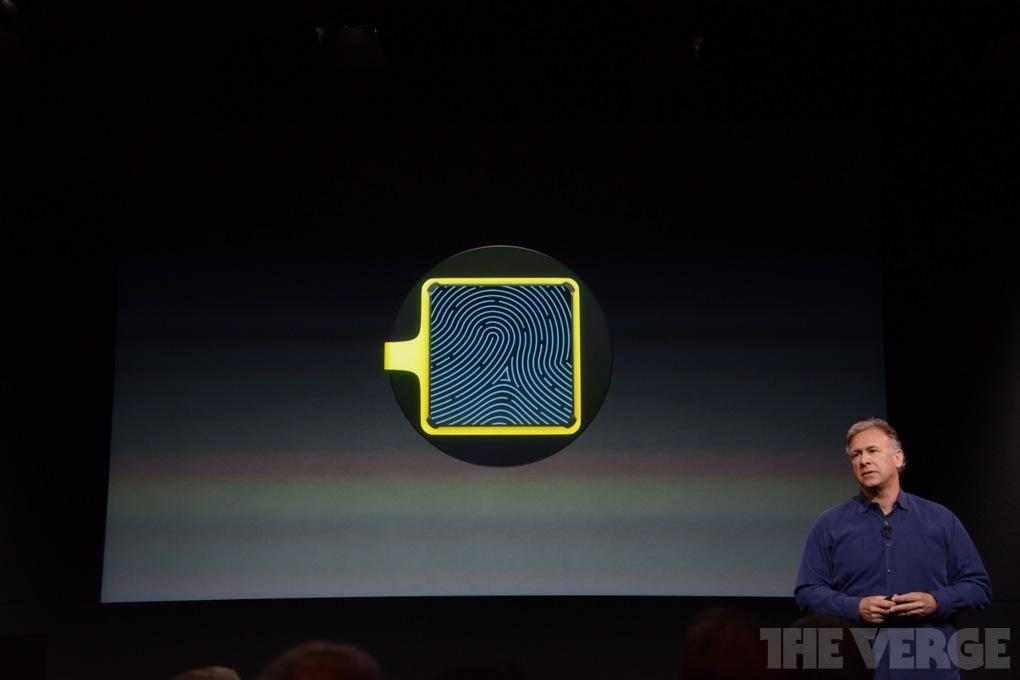 iPhone 5S Thumbprint Scanner