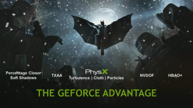 NVIDIA GeForce Batman Arkham Origins