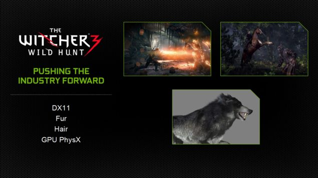 NVIDIA GeForce Witcher 3