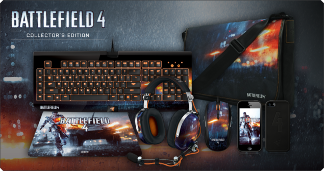 Razer Battlefield 4 Gaming Peripherals