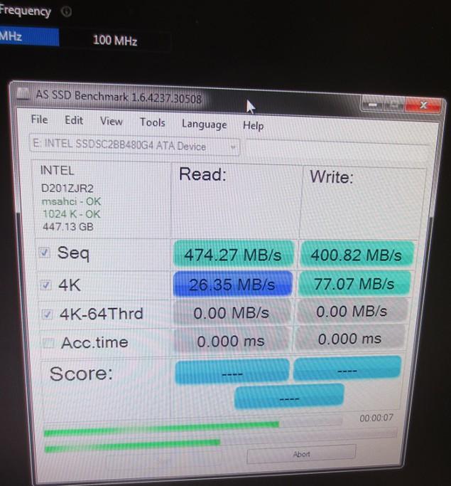 SSD Overclocking Default 2