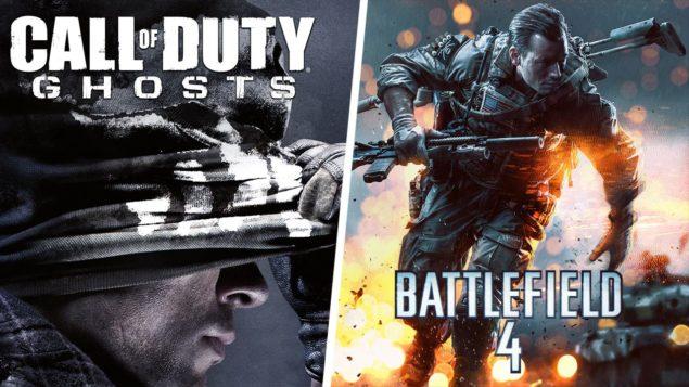 ea vs activision battlefield 4 vs cod