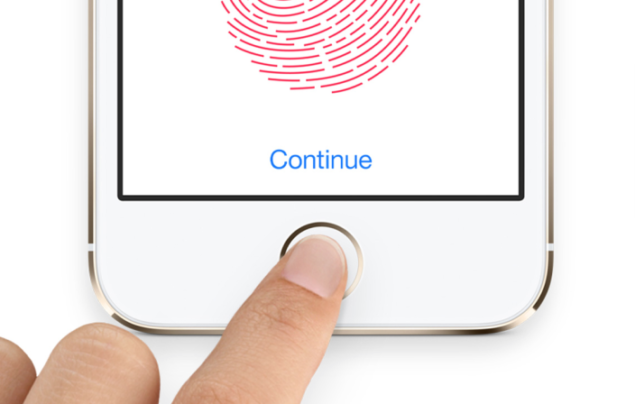 iphone 5s touch id finger print scanner hacked
