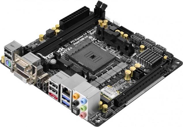 A88X Chipset FM2A88X-ITX +