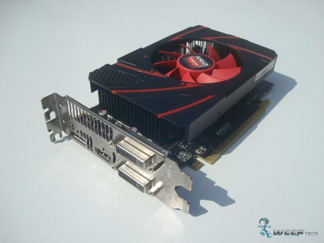 AMD Radeon R7 260X GPU (Custom)