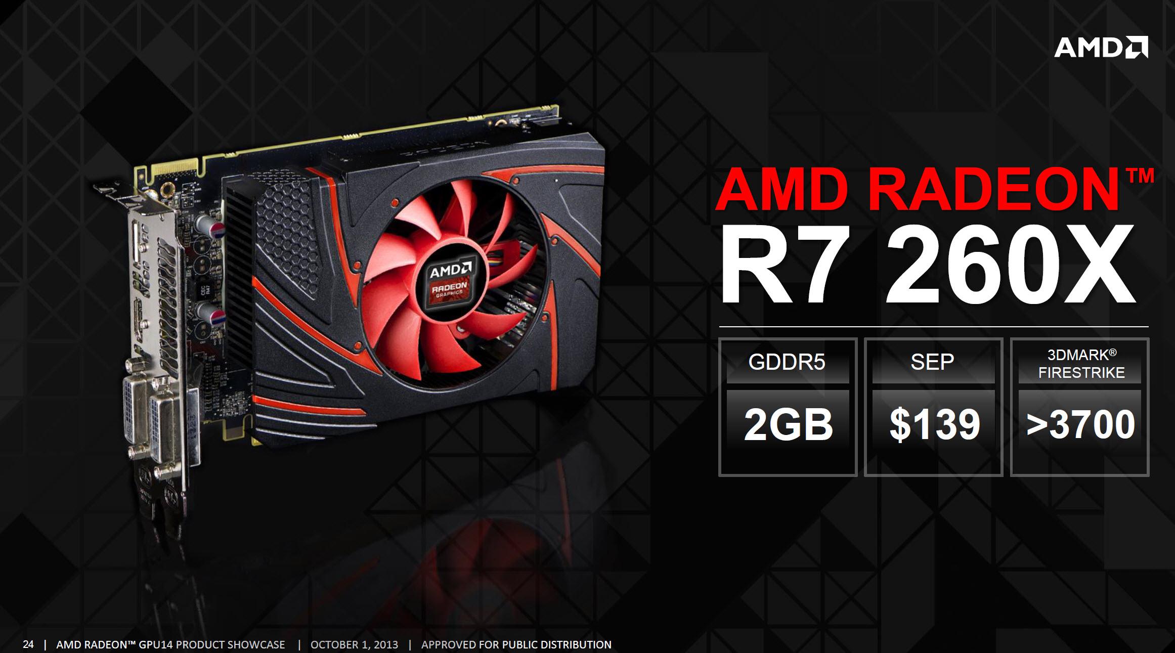 AMD Radeon R7 260X 2 GB 'Bonaire XTX' Graphics Card Review