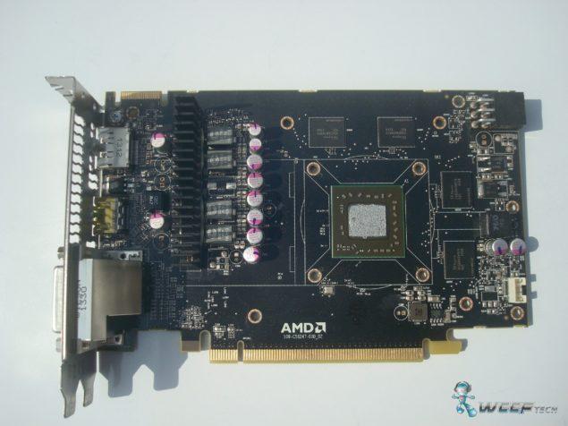 AMD Radeon R7 260X PCB (Custom)