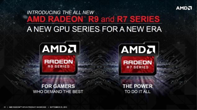 AMD Radeon R9 280X Radeon R7 260X Radeon R7 240