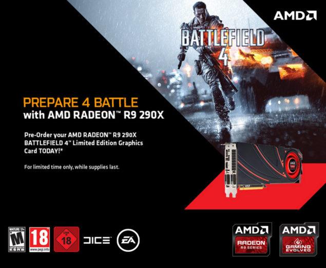 AMD Radeon R9 290X Battlefield 4