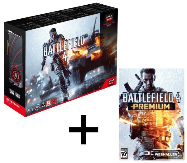 AMD Radeon R9 290X Battlefield 4 Premium