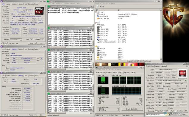ASRock FM2A88X A10-6800K 4.5 GHz