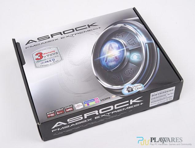 ASRock FM2A88X Extreme6+ Box
