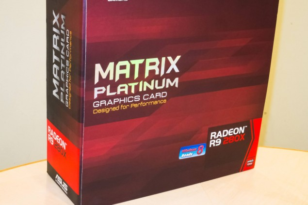 ASUS ROG MATRIX R9 280X Platinum Box