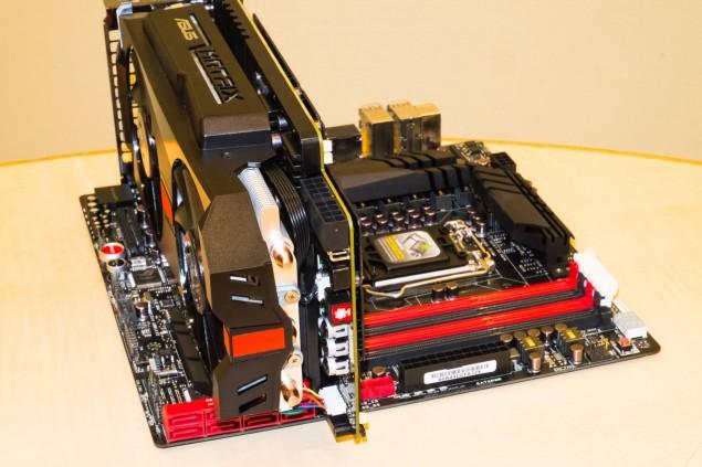 ASUS ROG MATRIX R9 280X Platinum System 2