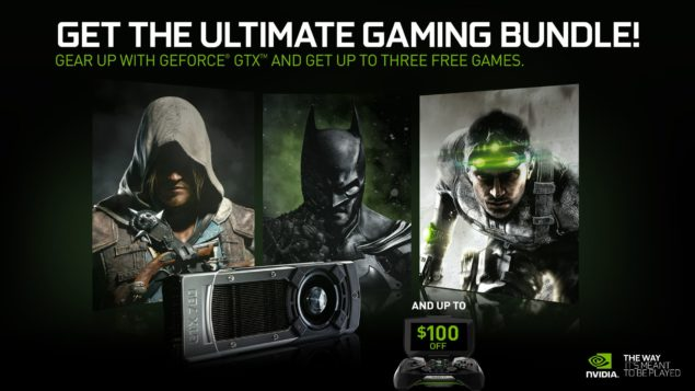 GeForce GTX Holiday Bundle 1