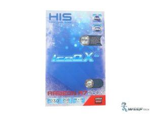 HIS Radeon R7 260X Box Front (Custom)