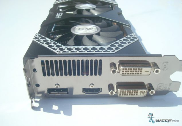 HIS Radeon R7 260X Display Ports (Custom)