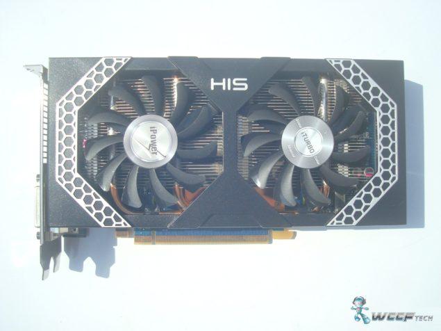 HIS Radeon R7 260X Front (Custom)