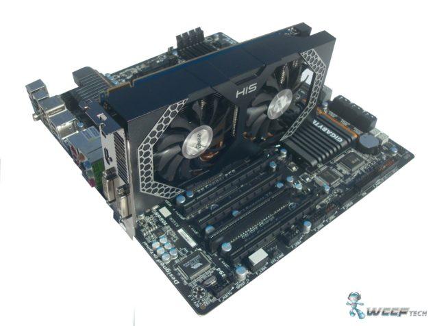 HIS Radeon R7 260X Setup (Custom)
