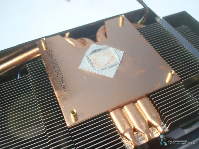 HIS Radeon R7 260X heatpipe (Custom)
