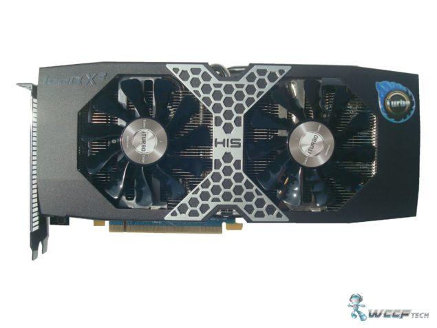 HIS Radeon R9 270X Front (Custom)