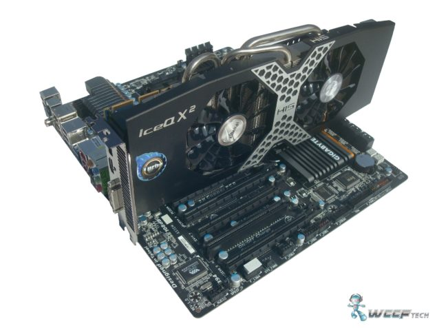 HIS Radeon R9 280X IceQ x2 Setup (Custom)