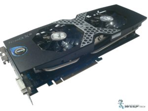 HIS Radeon R9 280X Side Pose 1 (Custom)