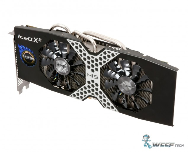 HIS Radeon R9 280X Side Pose 2