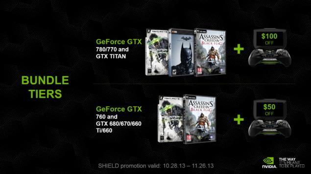 NVIDIA GeForce GTX Holiday Bundle