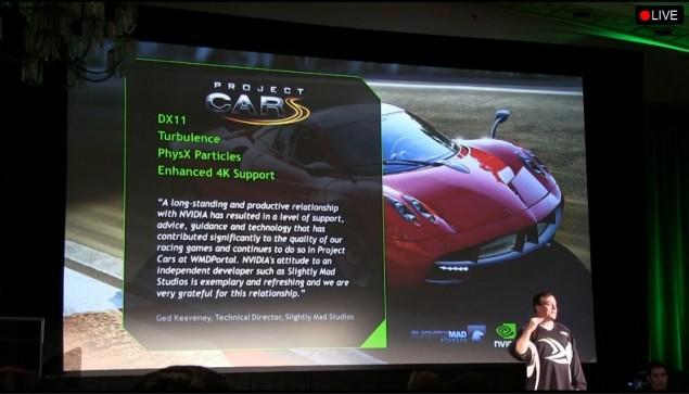 NVIDIA Project Cars
