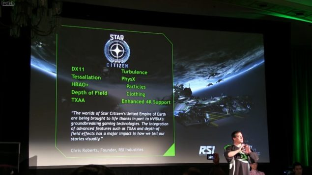 NVIDIA Star Citizen