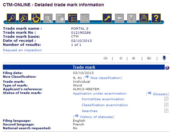Portal 3 Trade Mark