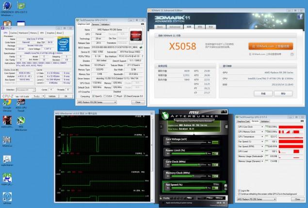 Radeon R9 290X 3DMark 11 1130 MHz