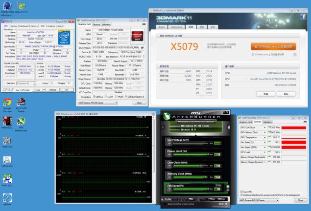 Radeon R9 290X 3DMark 11 Extreme 4