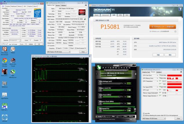 Radeon R9 290X 3DMark 11 Performance 1
