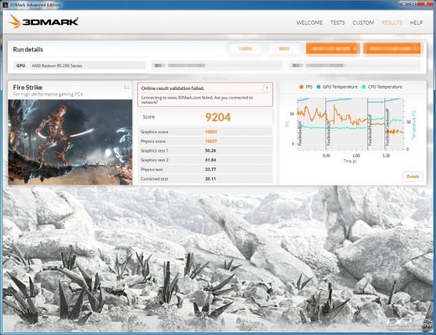 Radeon R9 290X 3DMark Firestrike