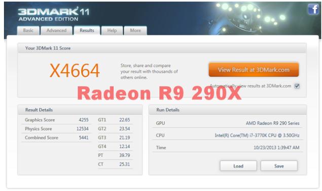 Radeon R9 290X 3Dmark