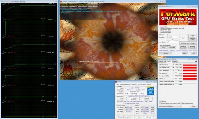 Radeon R9 290X Furmark