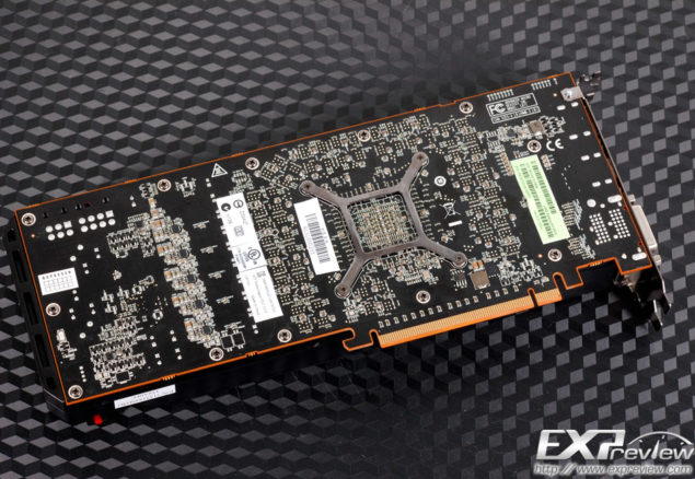 Radeon R9 290X PCB Back
