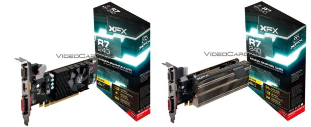 XFX Radeon R7 240 Passive Low Profile