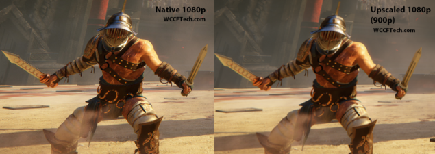 ryse resolution comparison two