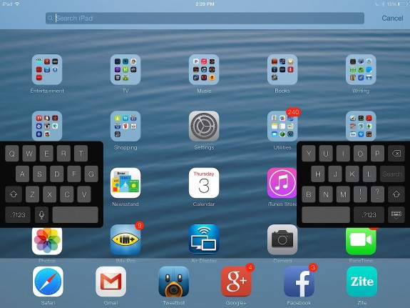 how to make keyboard bigger on iphone ios 7 features ii because the surprises never end 20161