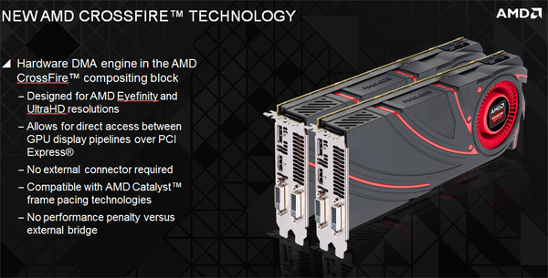 AMD xDMA Crossfire Technology