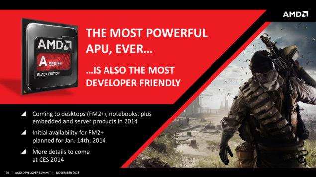 AMD Kaveri Launch