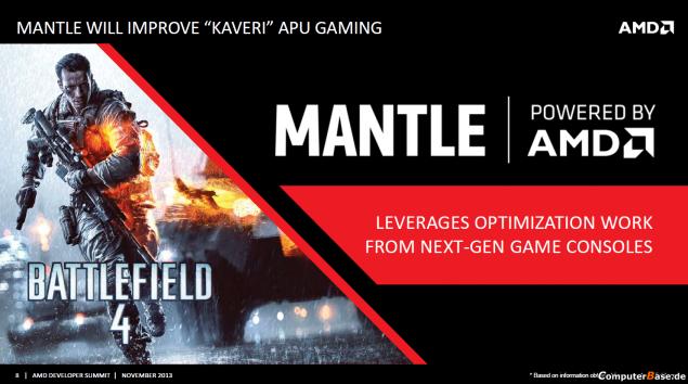 AMD Kaveri Mantle Support