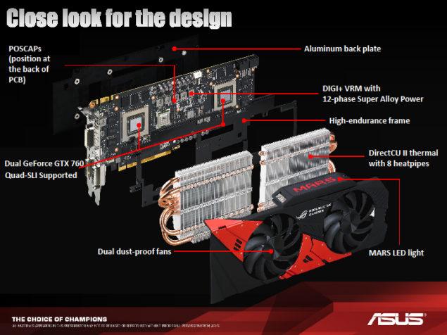 ASUS ROG 760 MARS Design